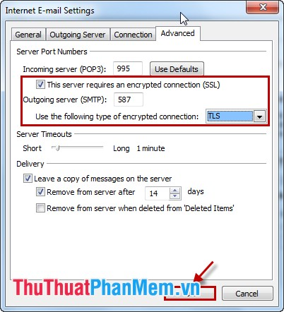 This sever requires an encryted connection