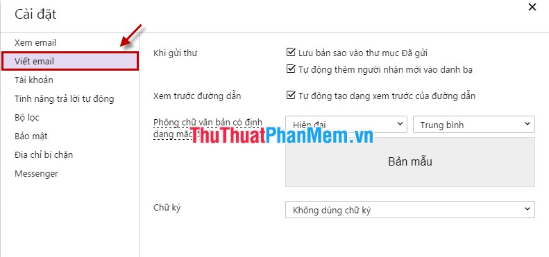 Viết email