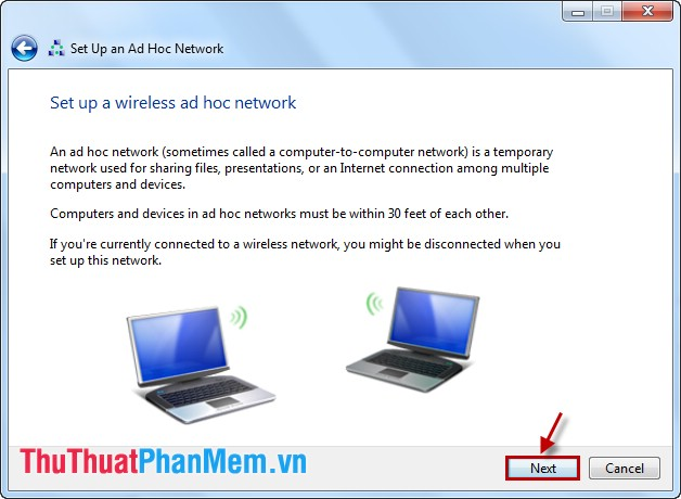 Set Up an Ad Hoc Network