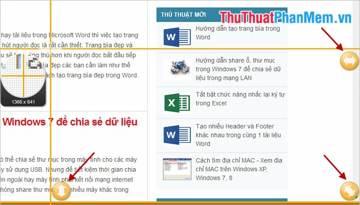 Chụp trang web All-in-one