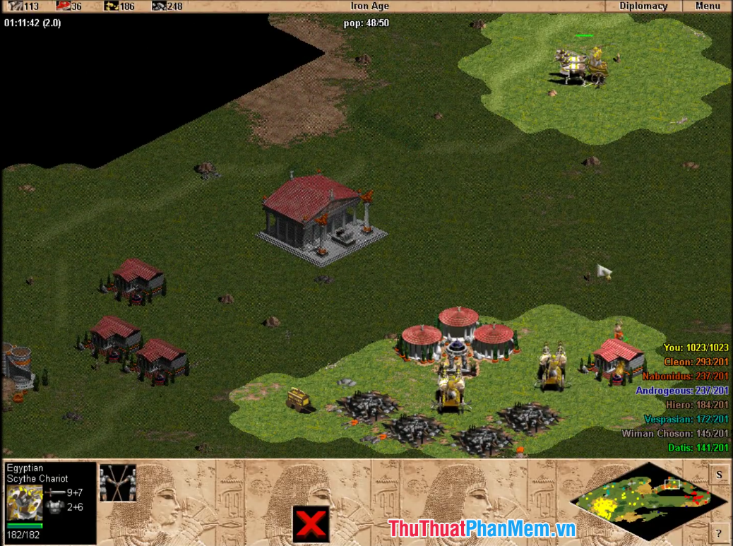 Hình ảnh trong game Age Of Empires The Rise Of Rome - 2